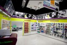 Retail Design Phones / Retail Fixtures | Retail Shelving | Retail Display | Commercial Equipment | Phone Stores | Sports Equipment Stores | Retail Design | Fixture Design | Design & Manufacture by the worlds leading shop equipment and solutions provider | HMY Group, your global shopfitting partner