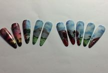 Nail Art. Competition Netherland / First time attending the Nail Art competition. Ended fifth place, very happy!