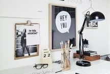 Office ♥ Work Place / #office / by Cleo