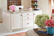 Sewing Room / Sewing Rooms/Craft rooms, Ideas that I'd like for my own Dream Sewing room.