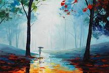 Autumn / Crispy mornings, colourful leaves, rain and sunlight