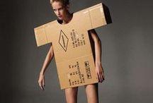 Trash Fashion / Ropa de lo más curiosa, toda elaborada con basura. Genial. / by Ecomania
