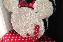 Gift baskets and diaper cakes