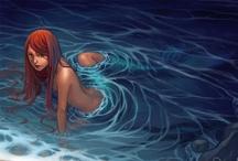 Mermaids & Medusas / Women from mythology are so damn hot! Follow me on Facebook: www.facebook.com/Art.Whiz