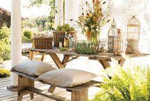 Balcones, jardines y exteriores