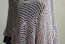 Knit Shawls - Lacey