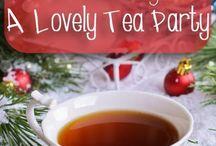 I love A Tea Party / by Vicki Kramer