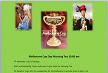 Melbourne Cup Day 2013 / The Marketing and RMC teams are joined forces to put on a morning tea for Melbourne Cup day, Tuesday 5th November.