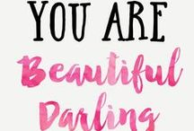 INSPIRATION / Inspirational quotes and uplifting messages for those days you need a little added sparkle. xx