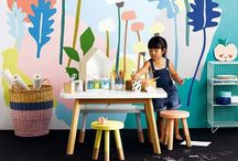 decor: spaces + rooms for kids / by Dear Handmade Life
