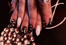 Nails / Nails,stiletto,pointy