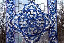Stained glass magic and mosaics