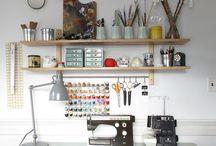 decor: studio + office spaces / by Dear Handmade Life