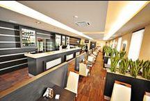 Restauracja / Restauracja w Hotelu ICam to zaproszenie na spotkanie z sztuką kulinarną - tą misterną, inteligentną, czerpiącą z tradycji, a jednocześnie serwowaną we współczesnej aranżacji.  W restauracji są serwowane dania kuchni polskiej z ekologicznych produktów, w dużej ilości, o dobrym smaku, pokazujące, że polska kuchnia to wyrafinowana całość wielokulturowych wpływów.