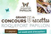 // Voyage Blogueurs Roquefort Papillon 2014 / Les créations culinaires des finalistes du grand concours de recettes Roquefort Papillon 2014 et le voyage blogueurs des 12 lauréats !