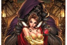 To Love A Beast / Beauty and The Beast fantasy concept art / by Black Lotus