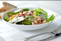 HEALTHY SALAD RECIPES / Delicious and healthy salads for any time of the year.  Spring and Summer salads as well as salads for Winter and Autumn. #salad recipes. Learn to love salads, fuel your body, overcome disordered eating and heal your relationship with food #salads #healthysalads