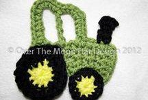 Tığ işi aplike (crochet applique) / tığ işi / by Sibel Erkaraman