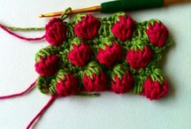 Crochet stitches and tecniques