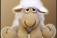 Amigurumi sheeps