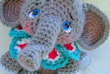 Amigurumi elephants