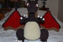 Amigurumi dragons