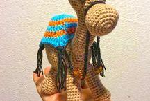 Amigurumi camels