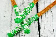 Saint-Patrick // Décoration de table / Inspirations et idées de #décoration de tables en fête pour recevoir sur le thème de la #SaintPatrick #DIY #Table #Art #TablesenFête