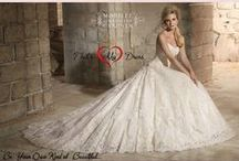 Mori Lee Bridal Gowns / Capturing the magic of that day....