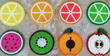 Hama beads - Coasters