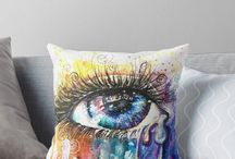 Eye Color Love / Unusual gift ideas by Artist Sophie Appleton