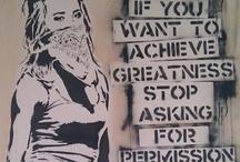 Art | Street Art with a Message / by . ✿ Zaz ✿ .