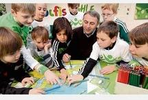 VfL Wolfsburg & Muuvit / Der Bundesliga Fußballverein VfL Wolfsburg ist Langzeitpartner von Muuvit und ein sozialverantwortlicher Akteur und Unterstützer des Projekts.