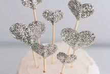 Cake and caketoppers / by something bleu weddings