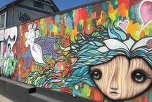 San Diego street art! / Photos of cool street art found in neighborhoods throughout San Diego!