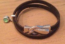 JL Bijou / Leren armbandjes
