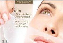 Soin Désensibilisant Anti-Rougeurs / Behandeling speciaal voor een gevoelige rode huid met gesprongen adertjes.