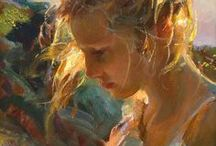 painting - oil  acrylic