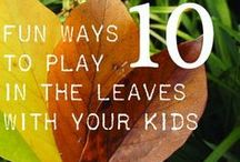 Family Fun in Fall / The leaves are changing and the the air is cool. Gather the family for some autumn inspired activities, crafts, decor, recipes and more. / by My Kids' Adventures
