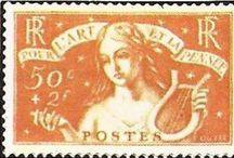 Francobolli Francesi (French Stamps)