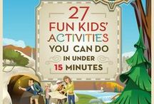 Spring Fun & Kids Activites / Fun and activities for spring time including kid's and family crafts, recipes and more. / by My Kids' Adventures