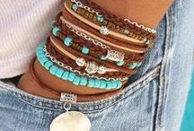 Colorful Jewelry / Bright colored jewelry, boho oriented.