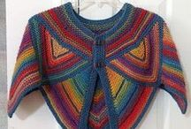 Crochet garments / I love crochet because it is much easier to manage than 2 sticky out needles of knitting that click constantly, and it has huge versatility.  But fabulous as some of the designs are Im looking also for simple garments that suit my lifestye, look modern and not too fussy ... and are achieveable.