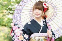 Japan beautiful kimonos