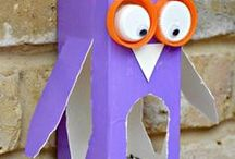 Arts and Crafts / Ideas to entertain the kids and be creative!