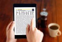 Jeux numériques Goélette / À vos tablettes ! Des jeux à la portée de tous, en format numérique.