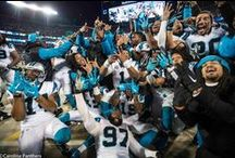 Let's Go Panthers! / SHE women know how to ROAR!  Let's see those Carolina Panthers Keep Pounding!