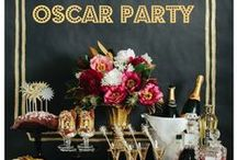 Oscar Party / Why should celebrities have all the glam and fun!  The Oscars will be Sunday, February 28th, 2016