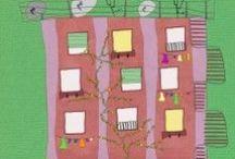 My Work | Illustraties / Diverse vrolijke illustraties, met de hand getekend en digitaal uitgewerkt.
