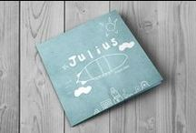 My work | Geboortekaartjes / Originele vrolijke geboortekaartjes met een eigen stijl. Kijk voor de hele collectie en mogelijkheden op : www.kaartjes.brengover.nl